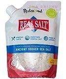 Redmond Real Salt- Nature's First Sea Salt- KOSHER Salt (16 Ounce Pouch)