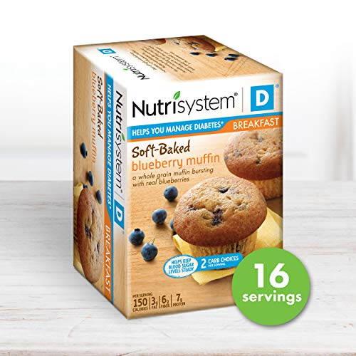 Nutrisystem D Blueberry Muffins, 16 ct