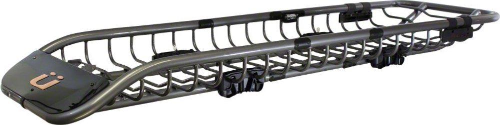 Kuat Skinny Roof Basket Gray Metallic, One Size