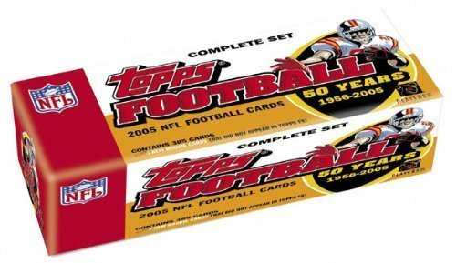 NFL 2005 Topps Football Complete Factory Set (440 cards) with Aaron Rodgers Rookie