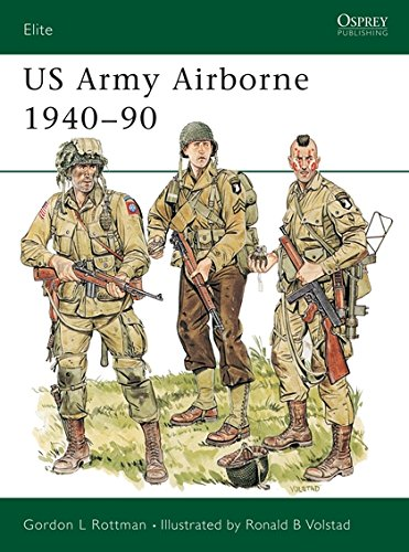 US Army Airborne 1940-90: The First Fifty Years: No 31 Elite ...