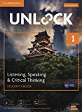 Unlock Level 1 Listening, Speaking & Critical Thinking Student's Book, Mob App and Online Workbook w/ Downloadable Audio and Video
