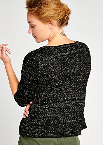 XL Cardigan Tailles Maille LOLALIZA XS Noir en YOw8xPT