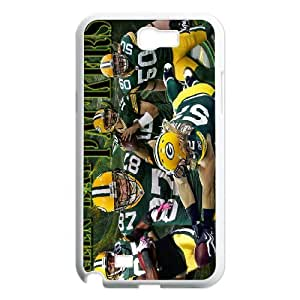 High Quality Phone Case For Samsung Galaxy Note 2 Case -Green Bay Packers Aaron Rodgers Jersey iPhone Cell Phone Case Cover-LiuWeiTing Store Case 8