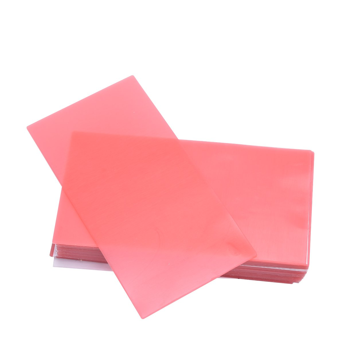 Annhua 20PCS Dental Lab Base Plate Wax Orthodontic Normal Type Red Utility Wax Dental Wax Sheets Supply