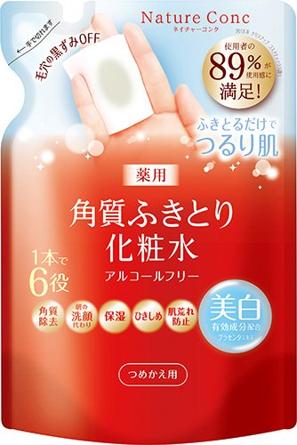 Japan Health and Beauty - Nature Conch Medicated Clear Lotion Refill 180mL (quasi-drugs) *AF27* ()