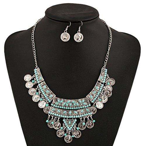 MJARTORIA Antique Festival Necklace Earrings product image