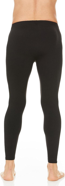Pingtr Mens Thermal Pant,Mens Thermal Warm Printing Long Johns Leggings Underwear White