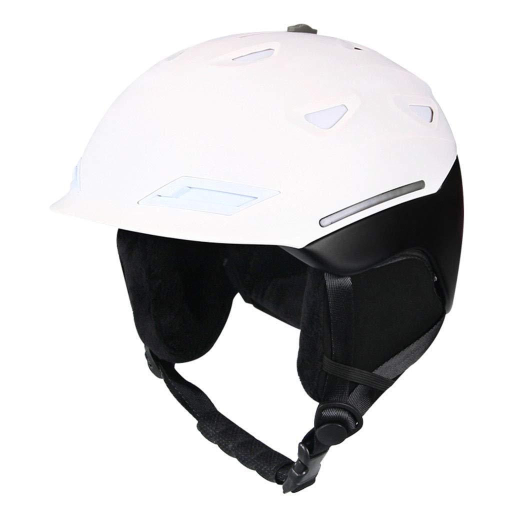 ヘルメット スキーヘルメット - ユニセックスアダルトスポーツショックプルーフアウトドアウォームヘルメット (色 : B, サイズ さいず : L l) B07HSPMYF1 L l|B B L l