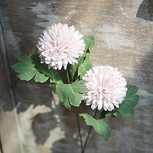 Fake Flowers Artificial Silk Fake Flowers Dandelion Floral Wedding Bouquet Hydrangea Decor Home Garden Kitchen 104