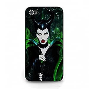 Magic Stylsih Fairy Tale Film Maleficent Phone Case Nice Cover for Iphone 4 4s Angelina Jolie Sexy