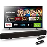 Element 65-Inch Fire TV Edition TV with AmazonBasics Sound Bar