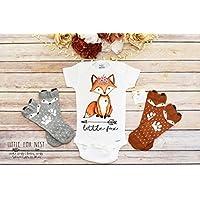 Boho Baby Clothes, Baby Girl Clothes, Fox Onesie, Fox Shirt, Fox Gift, Baby Girl Onesie