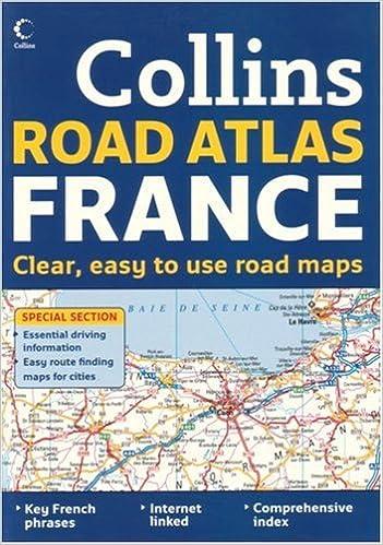 International Road Atlases - Collins Road Atlas France