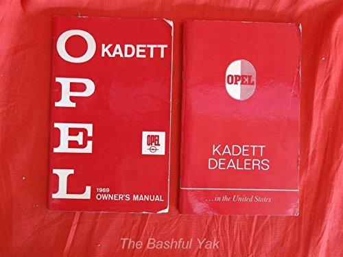 1969-opel-kadet-owners-manual-book