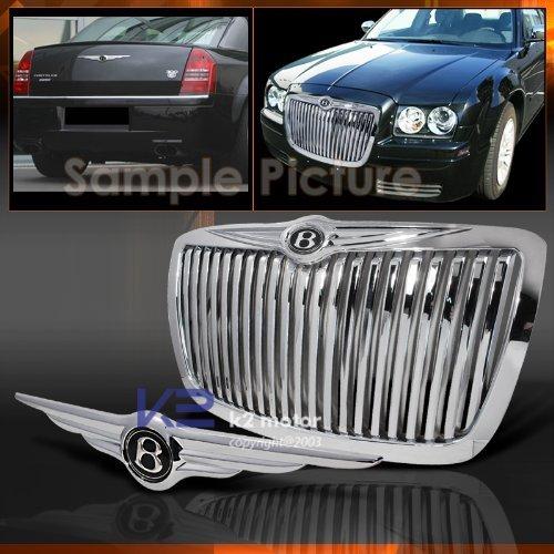 k2motor 2005 06 07 2008 Chrysler 300 300c Vertical Grille+rear Wing