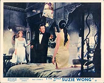 world of suzie wong original lobby card william holden
