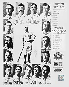 1903 BOSTON RED SOX TEAM WORLD SERIES CHAMPIONS 8x10 Photo PHOTOFILE