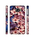 Casotec Pink Flowers Pattern Design 3D Printed Hard Back Case Cover for Samsung Galaxy A3 (2016)