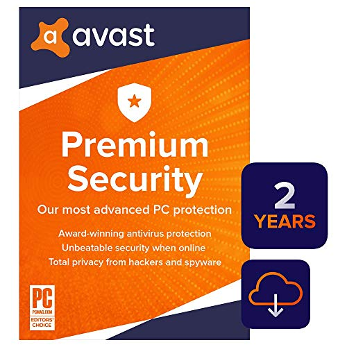 Avast Premium Security 2020 | Antivirus Protection Software | 1 PC, 2 Years [Download] (Best Antivirus And Firewall 2019)