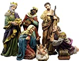 Resin Holy Family with Wise Men Church Size Nativity Scene Set, 23 1/2 Inch