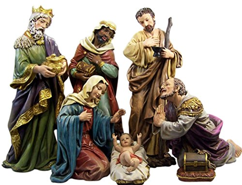 Resin Holy Family with Wise Men Church Size Nativity Scene Set, 23 1/2 Inch by Catholic Brands