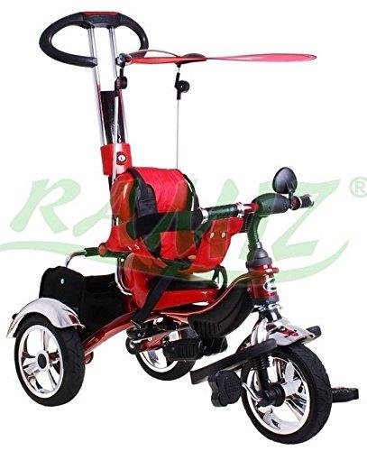 SporTrike Classic Air Kinder Dreirad Kinderwagen - Rot