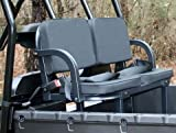 Polaris Ranger 6x6 800 2010 Full-Size Deluxe UTV Rumble Seat Black (back seat) by Great Day