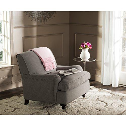 Safavieh Mercer Collection Chloe Club Chair, - Club Chair Casters