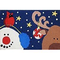 Jellybean Rug Reindeer & Ornament