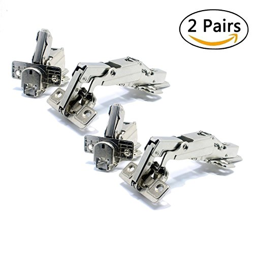 Stainless Steel Soft Close Hydraulic Cabinet Hinges (Full Overlay) - 2