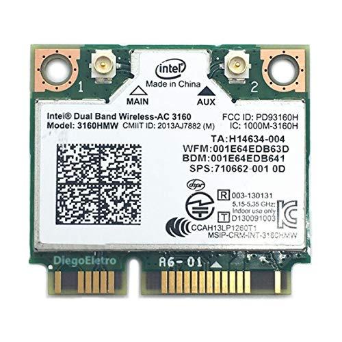 Amazon.com: Dual Band Wireless-AC 3160 ac3160 3160 AC WiFi + ...