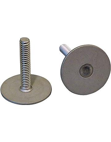 6-32 Thd x .750 lg Steel Zinc QTY-10 Unicorp EFH-632-12 Round Captive Stud Flush Threaded