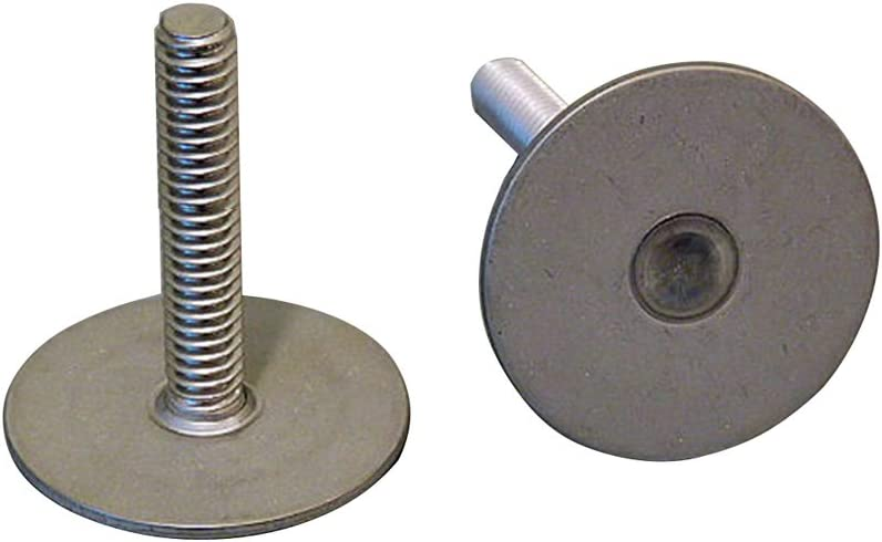 Qty Weld Mount 1 Tall Stainless Stud w//1//4 x 20 Threads 10