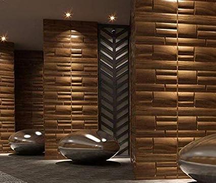 Olina 6 m2 Paneles Decorativos para paredes interiores 100/% ecol/ógico fabricado con bamb/ú