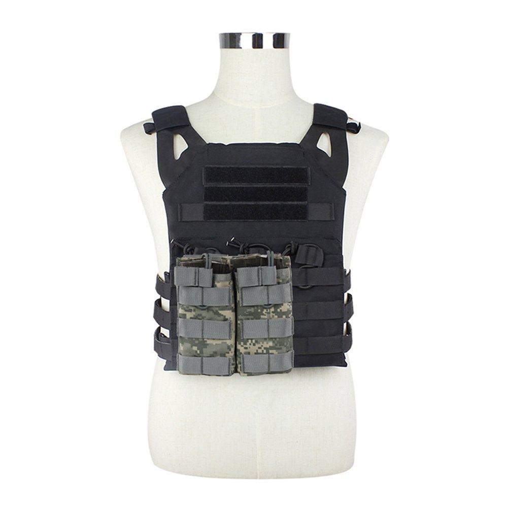 wongfon doppio aperto Beutel M4/M16/Mag titolare Airsoft cambio rapido molle Magazin Traeger Solid 1000d Nylon Gelb