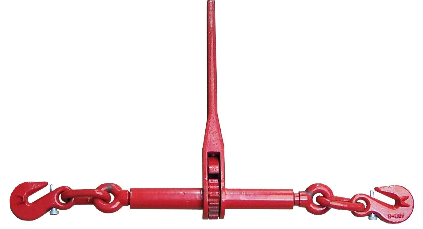 SHZ Zurrkette Spannkette Ratschenspanner 2-teilig zweiteilig 10mm 6300 daN 63kN 6300kg 3,0 ZK2-10