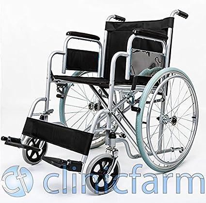Carrozzina Pieghevole Sedia A Rotelle Per Disabili Ed Anziani Via Libera Misure 41cm 43cm 46cm 51cm