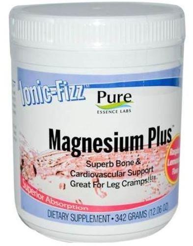 Essence pure Labs ionique Fizz magnésium Plus - OS superbe & cardiovasculaire soutenir par Essence Pure Labs - limonade framboise - 342 grammes