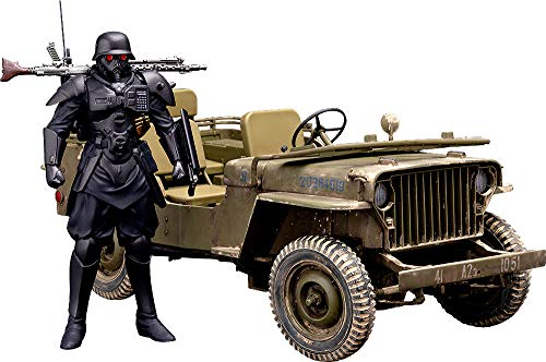 The Red Spectacles: Plamax MF-35: Minimum Factory Protect Gear with Special Investigations Unit Patrol Vehicle 1: 20 Scale Plastic Model Kit from Max Factory