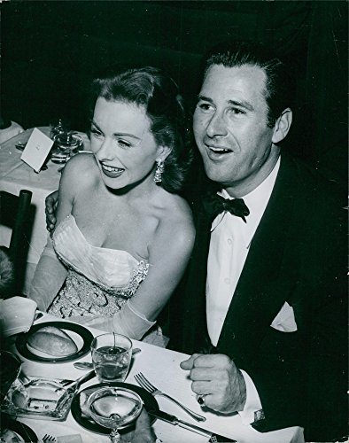Vintage photo of Actress Jeanne Crain with husband Jeanne Crain. (Crain Photo)