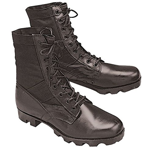 Stansport Jungle Boots, Black, 9R