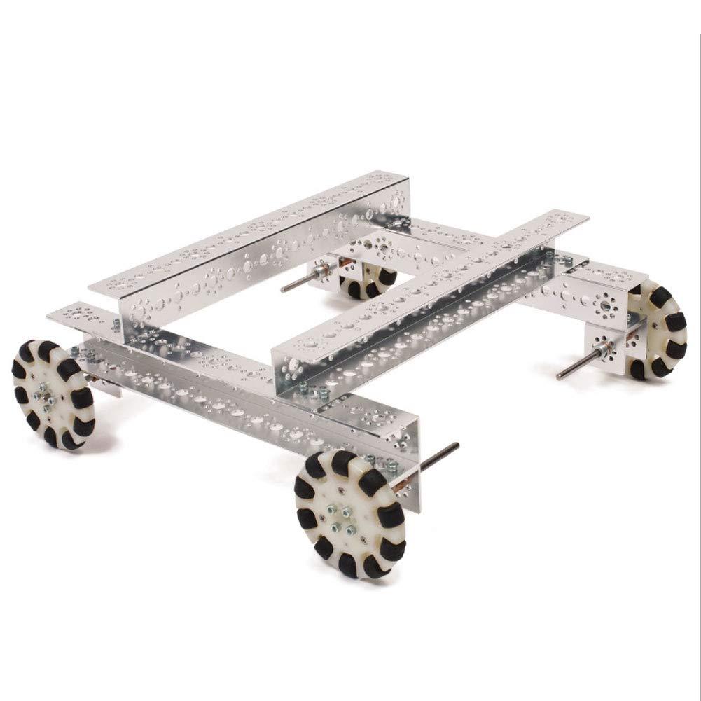 5Pcs Stainless Steel D‑Shaft Bar DIY Craft Tool 4101‑0006‑0100 /Φ6mm Compatible for Lego//gobilda//TETRIX Robots