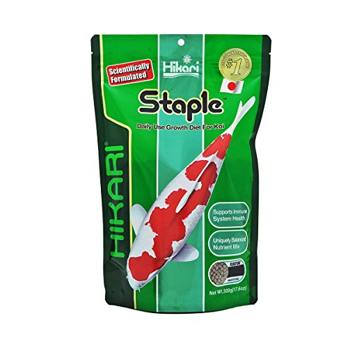 Picture of Hikari 17.6-Ounce Staple Floating Pellets for Koi and Pond Fish, Medium
