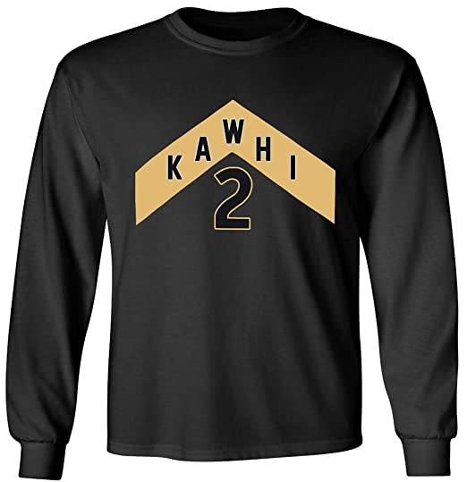 low priced c72f6 0d6a4 Long Sleeve Black Toronto Kawhi We The North Jersey Logo T ...
