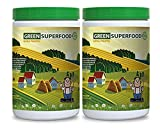 Product review for weight loss detox - GREEN SUPERFOOD NATURAL PINEAPPLE (POWDER 10.6 OZ) - immune booster - 2 Bottles (600G)