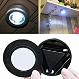 Ezyoutdoor LED Battery Powered Stick Tap Touch Light Lamp Hiking Camping Cabinet Closet lamp for Household Travel Hiking Bivouac Picnic