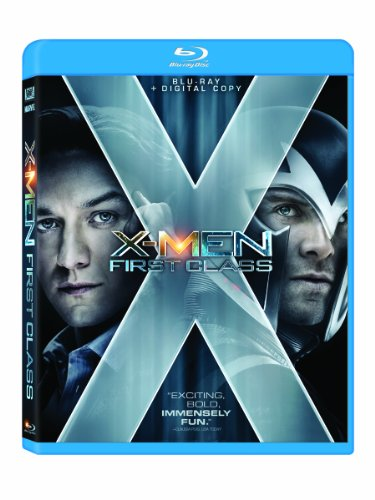 X-Men: First Class (+ Digital Copy) [Blu-ray]