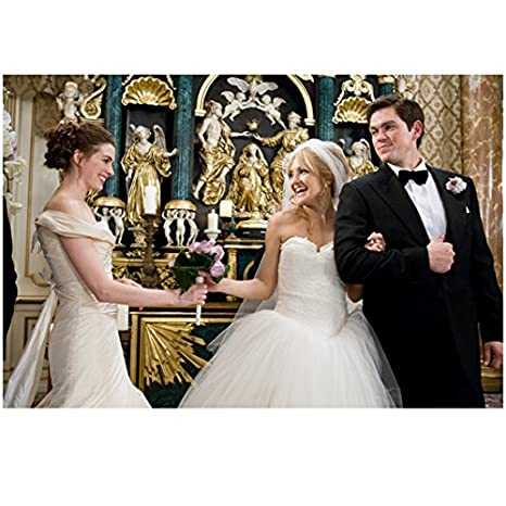 Anne Hathaway Wedding.Bride Wars 8 Inch X 10 Inch Photograph Kate Hudson Anne Hathaway