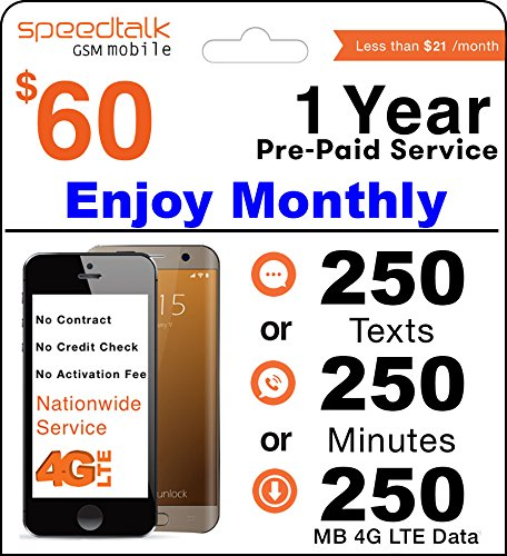 Year Prepaid GSM SIM Card product image